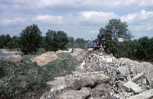 Afval Kremers+MOB bij De Kuilen Mill 1986.jpg
